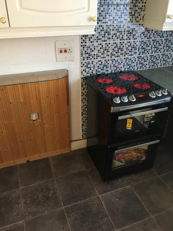 Image 19 - New cooker supplied and fitted with a full 12 months guarantee. Bryden Electrical