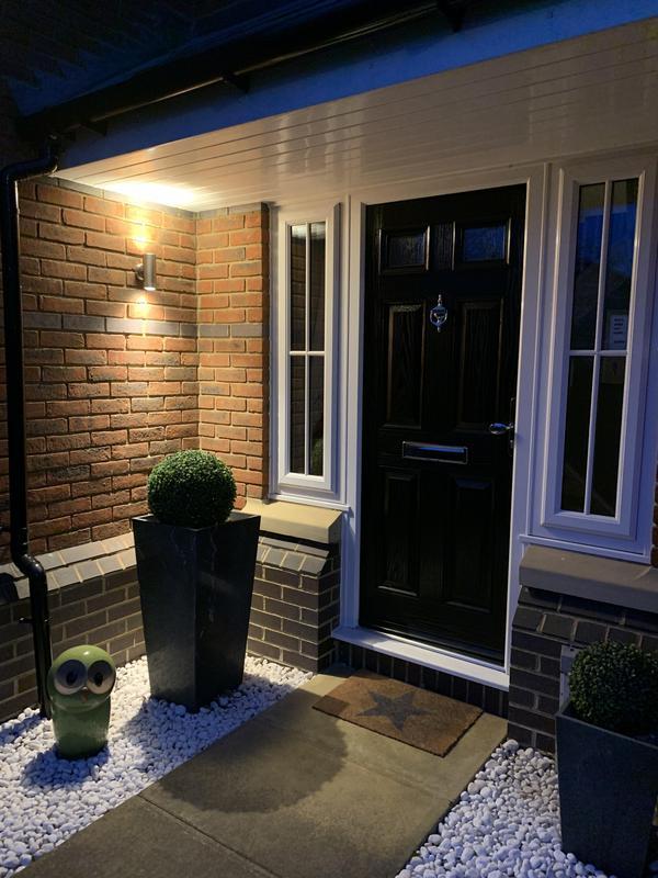 Image 1 - Replaced front door light