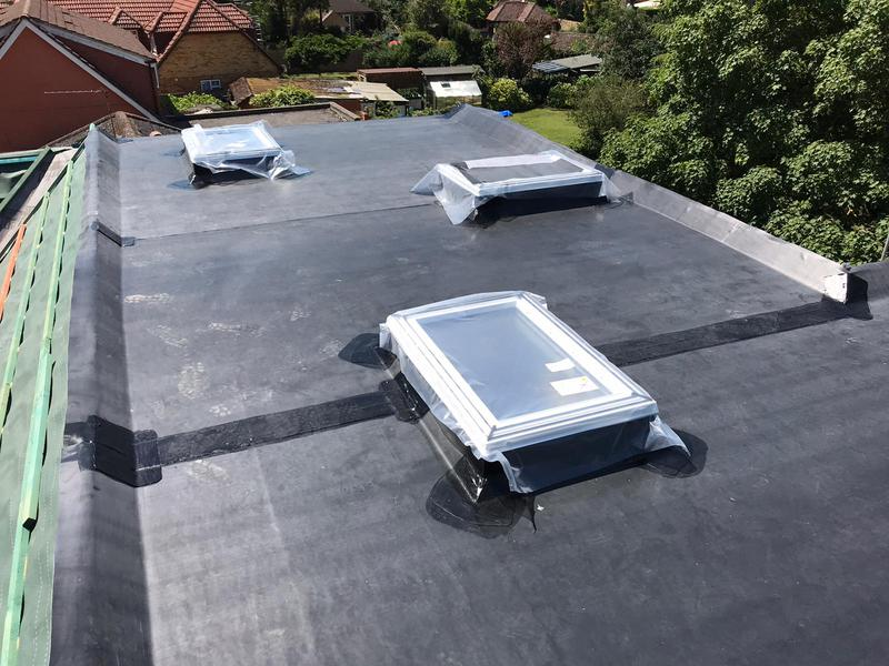 Image 21 - New Rubberbond roof,