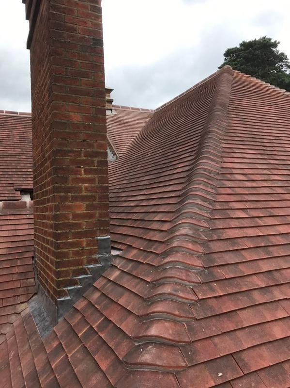 Image 50 - Chimney Re-pointing in Horsel Woking Surrey