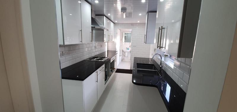 Image 17 - Kitchen Rewire and spot lights. Cool white lamps to finish off and give the crisp clean look