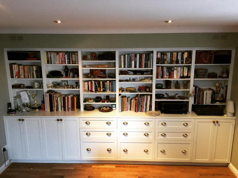 Image 7 - Bespoke cupboard/drawers with adjustable shelving