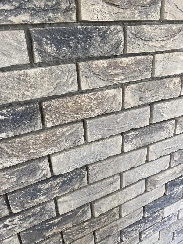 Image 23 - Brick slips for feature wall in home