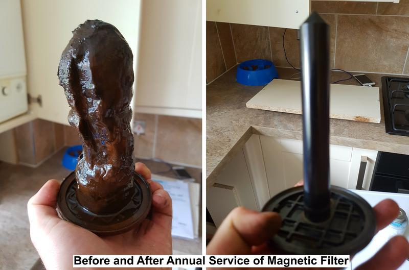 Image 15 - Central Heating Magnetic Filter Cleaned (6+ years build up)