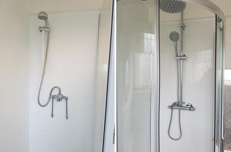 Image 16 - Before and After Shower installation