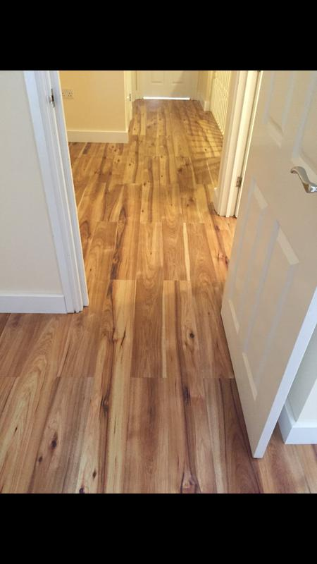 Image 107 - Full first floor laminate flooring and skirting installed throughout