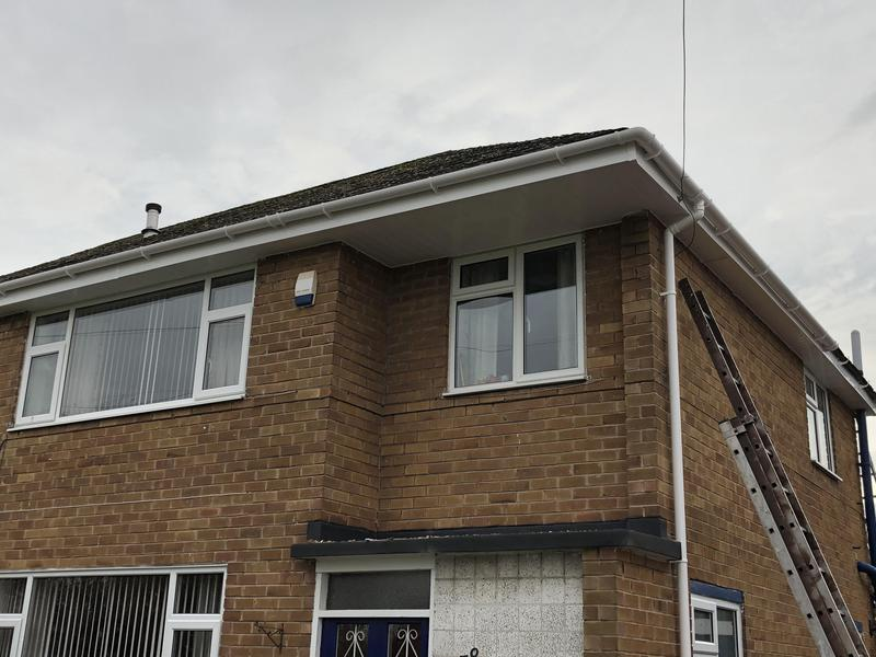 Image 33 - Replacement fascia soffits & guttering.Also downpipes