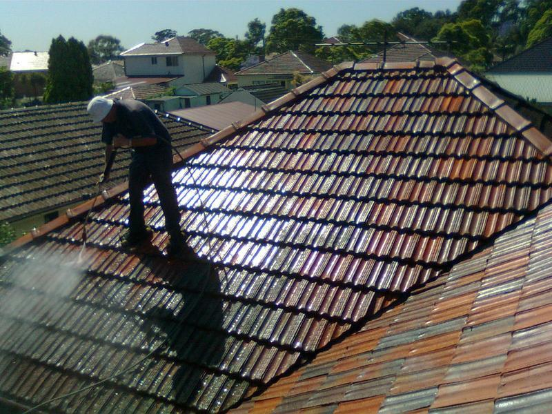 Image 60 - we also clean roof tiles of moss and grime