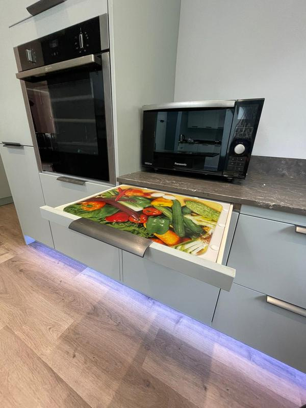 Image 3 - Pull out shelf for our wheelchair user customer, making it easier for her to place items removed from the oven!