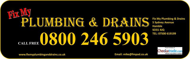 Fix My Plumbing & Drains Ltd logo