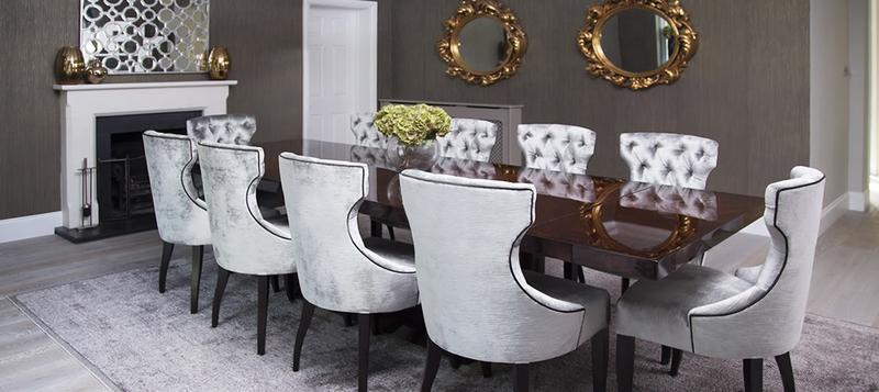 Image 2 - Bespoke dining table and handmade dining chairs from Elegant bespoke Living