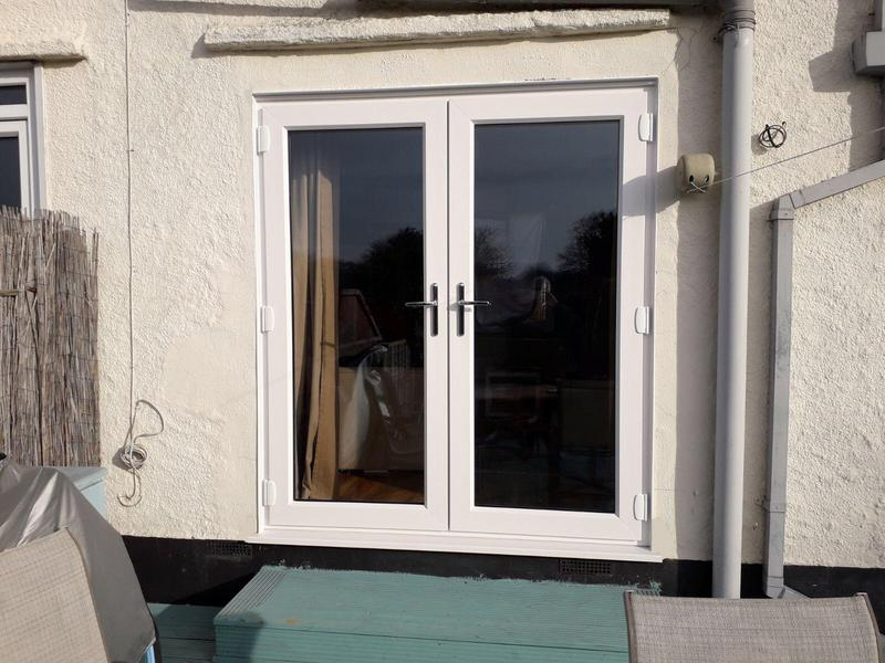 Image 122 - Basildon-White UPVC French doors