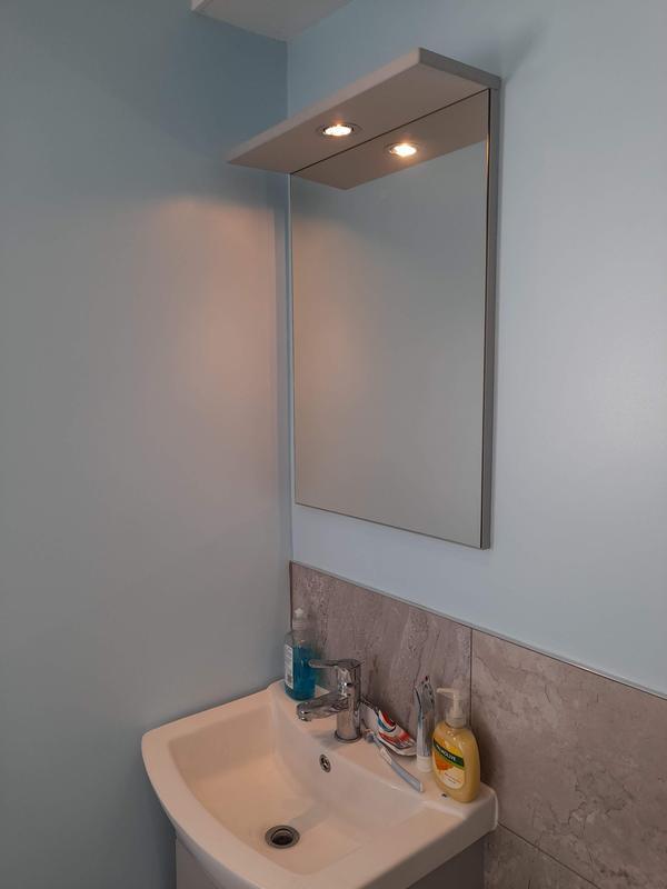 Image 11 - Bathroom light fitted