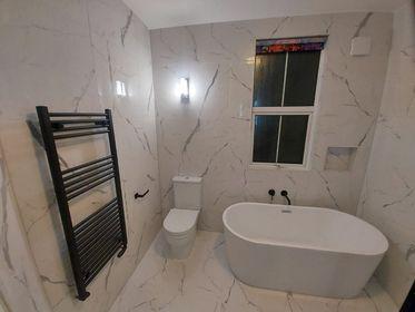 Image 34 - Bathroom renovation after, Upminster, RM14