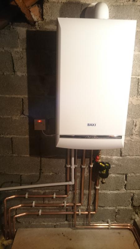 Image 2 - A Baxi Platinum installed in the loft. Boiler comes aith a 10 year warranty.