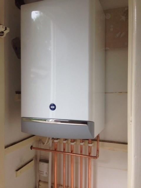 Image 6 - Baxi DuoTec installation in Rainford