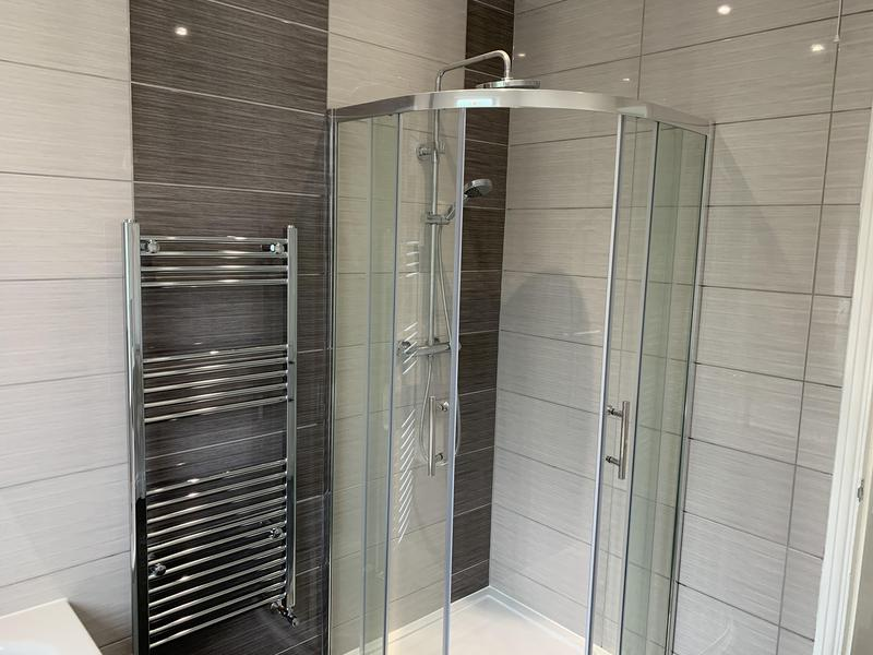 Image 9 - Sundridge park walk in shower in previous immersion cupboard