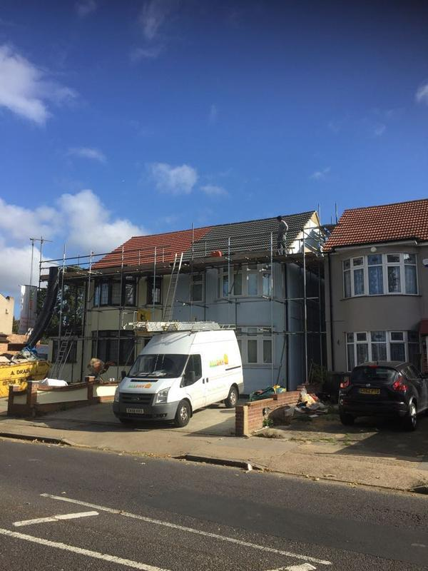 Image 1 - two new interlocking tiled roofs being renewed