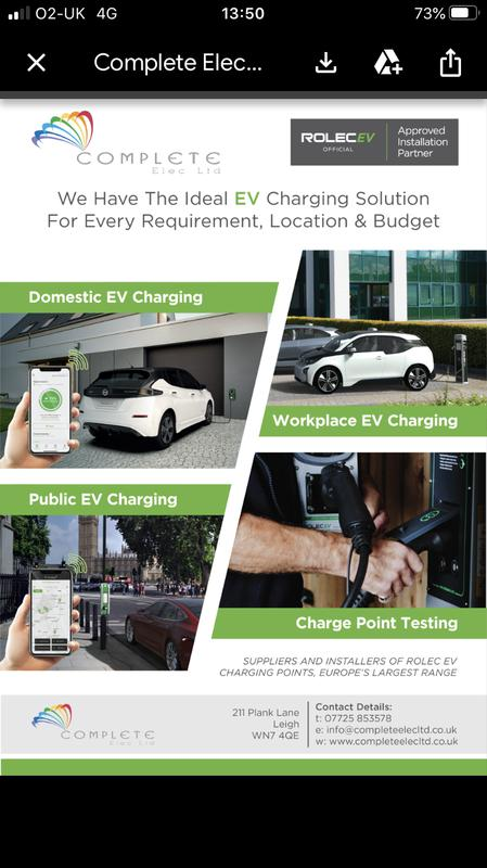Image 1 - Rolec Approved EV charge point installers.