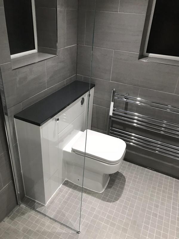 Image 3 - Sutton at Hone Bathroom refurbishment. AFTER