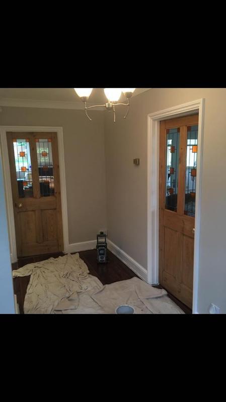 Image 29 - nutmeg white walls, satin wood with varnished doors