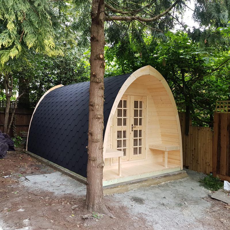 Image 72 - Camping pod.