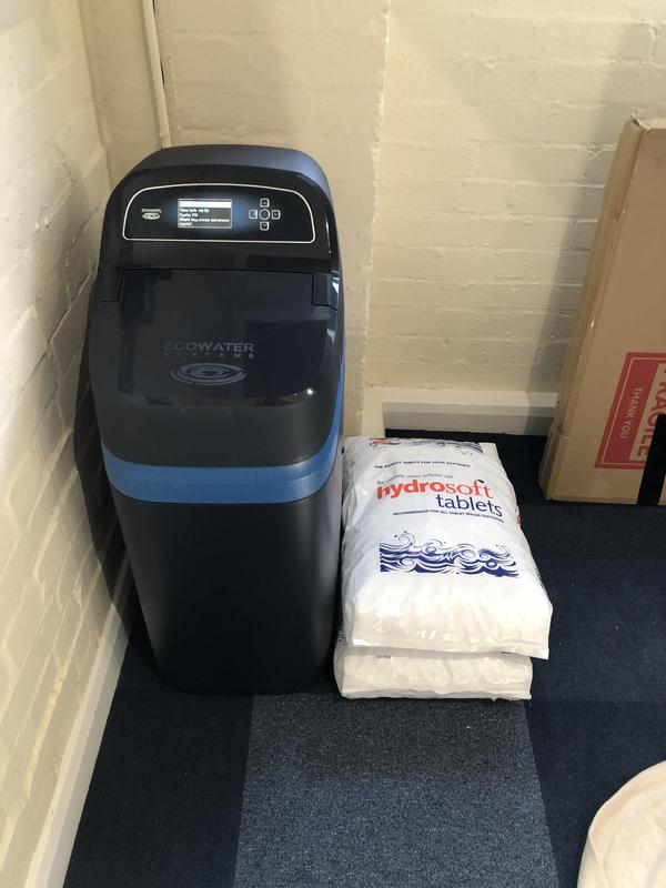 Image 4 - EcoWater Refiner fitted at Colin Hill, Bar and Catering. This is a water filter and softener in one unit. No plastic bottles used here!