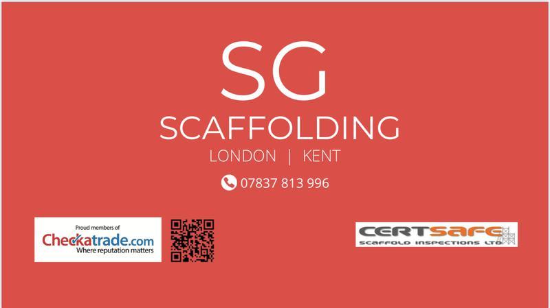 SG Scaffolding logo