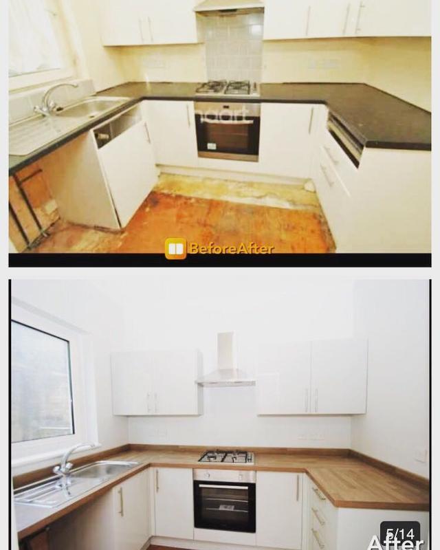 Image 11 - Ramuz drive house renovation (kitchen)