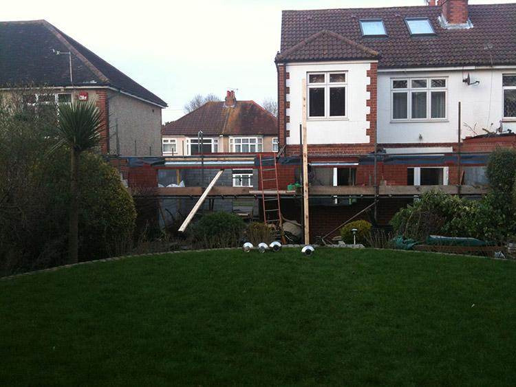 Image 14 - Rear Extension - Before