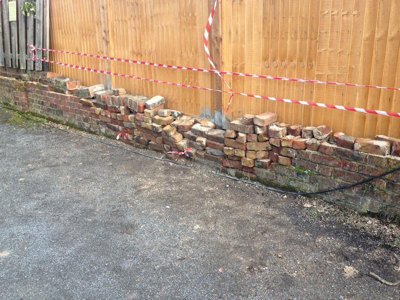 Image 5 - Damaged Wall & Fence Bexleyheath