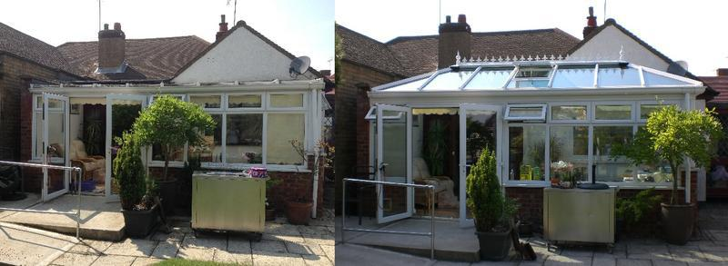 Image 13 - BEFORE & AFTER - Replace your existing Conservatory Roof