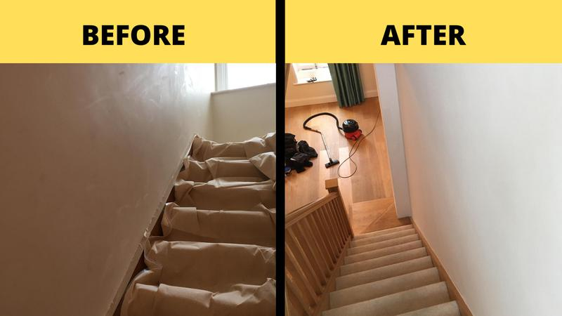 Image 1 - Stairs before & After