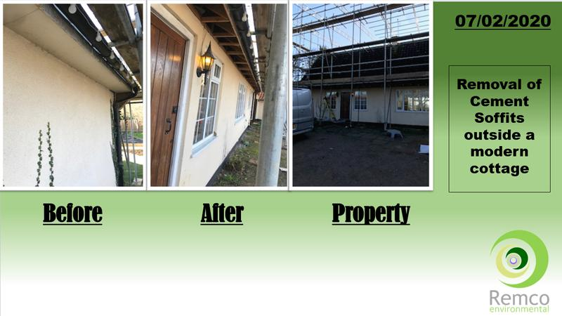 Image 1 - Removal of Asbestos Cement Soffits