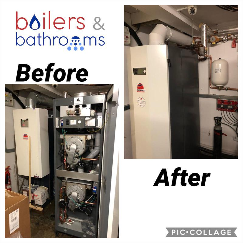 Image 6 - Commercial boiler change, Were also commercial gas engineers!