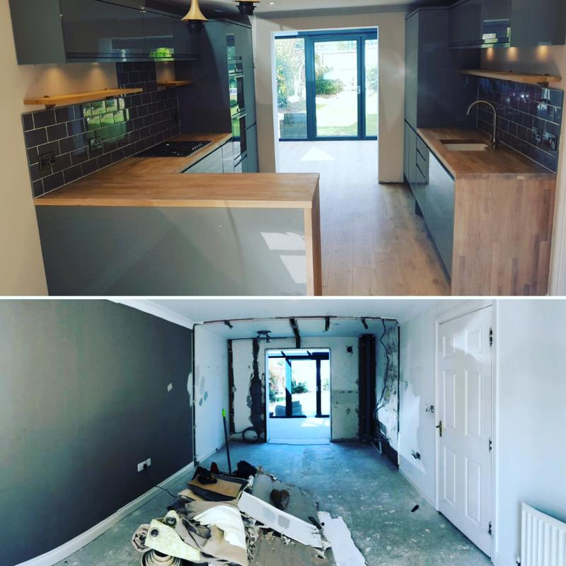 Image 40 - Before and after - Witham