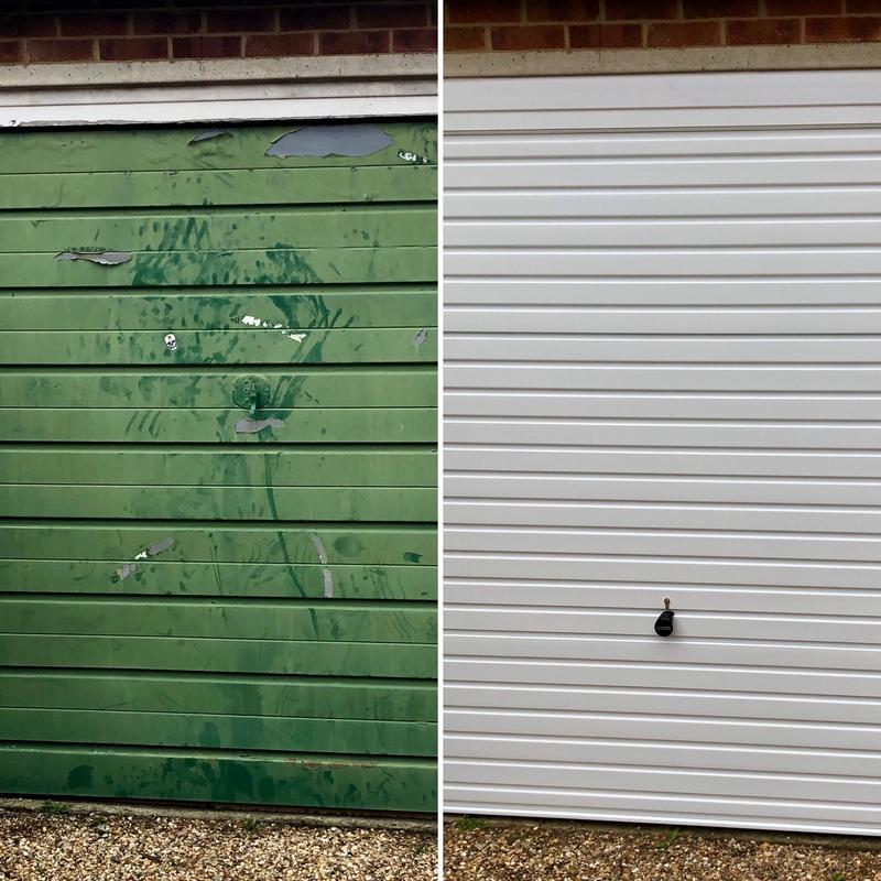 Image 3 - Before and after for a client in Hemel Hempstead.