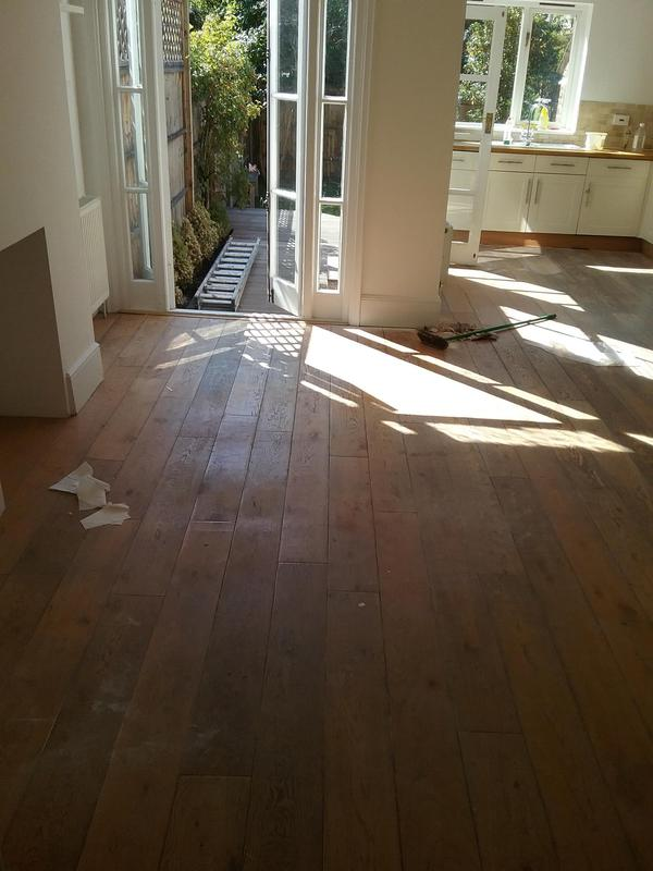 Image 111 - KITCHEN - ENGINEERED OAK FLOOR INSTALLATION