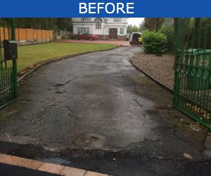 Image 1 - Driveway Before