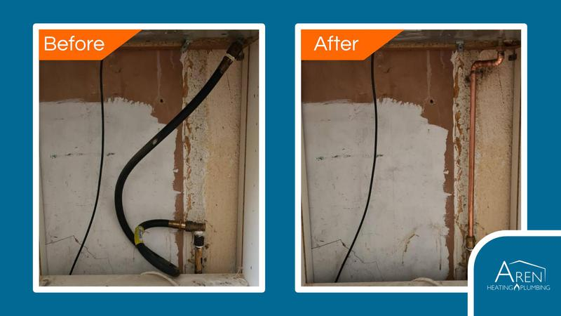 Image 3 - Meeting gas compliance regulations. Before and after photos.