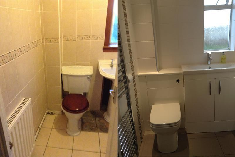 Image 7 - Before & After: New Bathroom