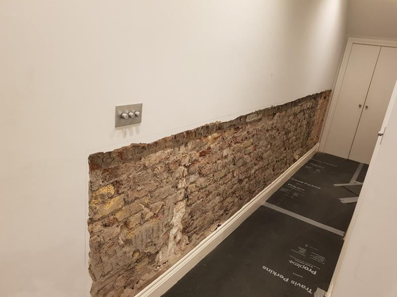 Image 6 - DAMP TREATMENT WALL