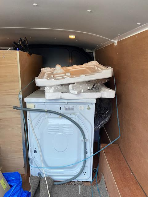 Image 1 - Beko washing machine installation for a local letting agent. We always dispose of the old appliance and all the packaging. AFTER
