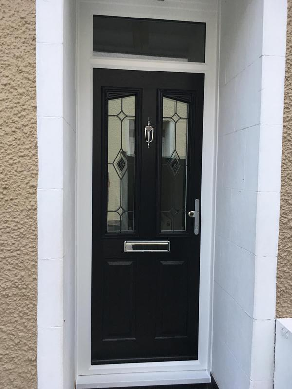 Image 120 - Benfleet-Black composite door