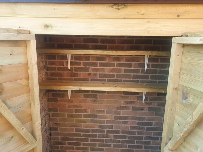 Image 43 - New custom built storage shed