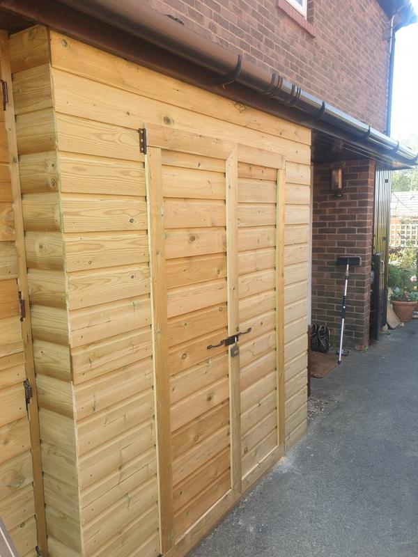 Image 44 - New custom built storage shed