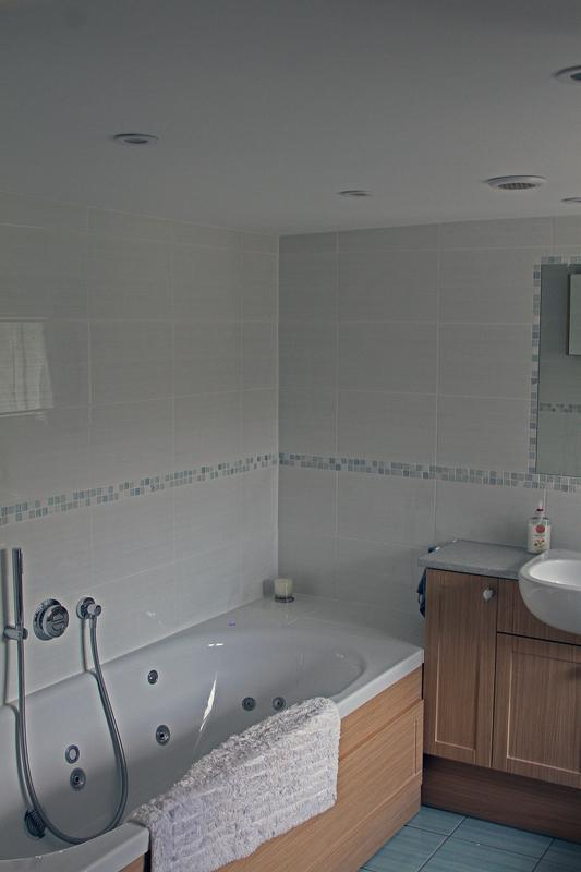 Image 9 - Converted a Shower Room into a Bathroom with spa bath
