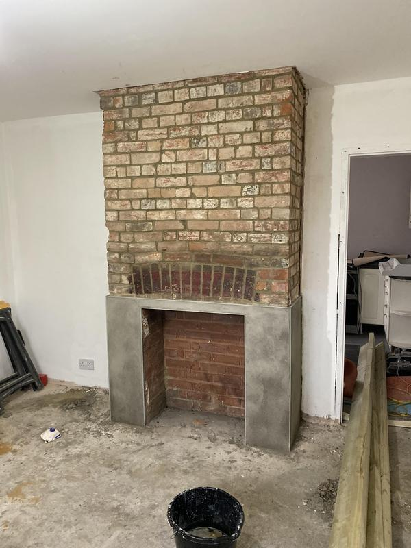 Image 51 - Chimney refurb