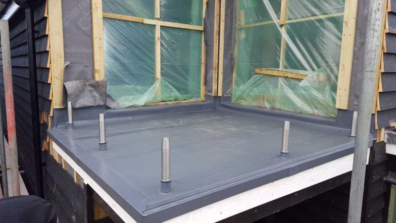 Image 11 - PC membrane installation to balcony.