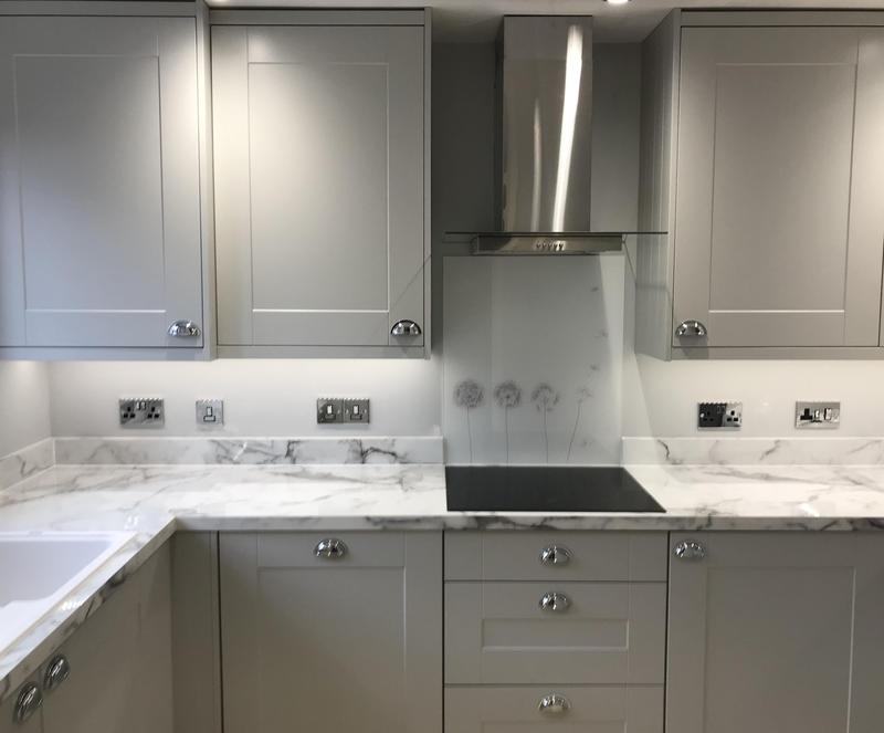 Image 9 - Customer 096. A small kitchen renovation that changed the look of the room completely.